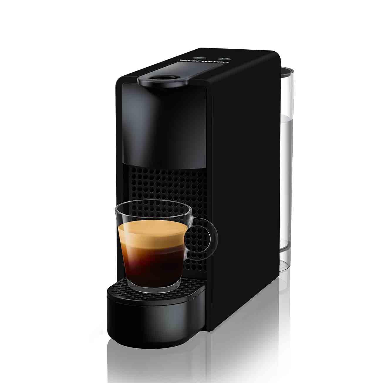 מכונת קפה  NESPRESSO  אסנזה מיני בצבע שחור מט דגם C30