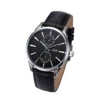 שעון יד לגבר בעיצוב מחוספס וגברי מבית ADI ועשוי פלדת אל חלד