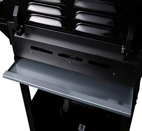גריל גז 3 מבערים שחור בעוצמה של 40,000BTU + כירת גז צדדית BUFFALO CHEF + כיסוי וסט כלים מתנה  - תמונה 4