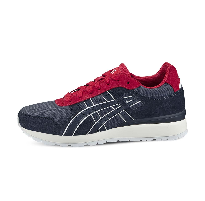 נעלי אופנה Asics יוניסקס דגם H646L-5050 - אפור אדום