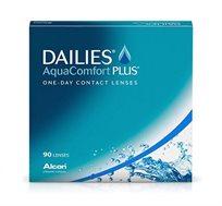 עסקה שנתית של עדשות מגע DAILIES AquaComfort Plus אלקון
