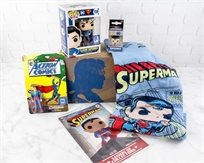 Dc League Of Legends Super Man Collectors Pack מארז אספנים Pop