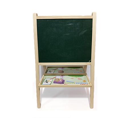 רק החוצה לוח ציור עומד דו צדדי לילדים הכולל לוח מחיק לטושים ולוח לגירים GR-18