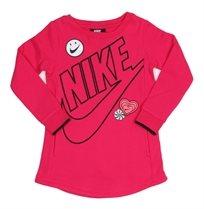 NIKE ילדות קטנות// DOODLE DRESS PINK