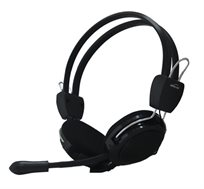 אוזניות משולבות מיקרופון ובקרת ווליום דגם HS-22V מבית SilverLine