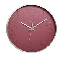 """שעון קיר מעוצב, מדוייק ומינימליסטי קוטר 30ס""""מ לעיצוב הבית והמשרד בצבע לבחירה RICO BRAND"""