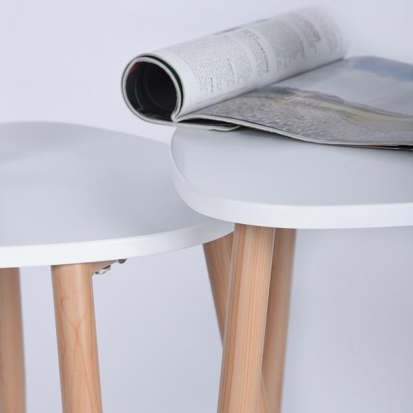 סט שולחנות פרקטי בעיצוב מודרני ביל וקרוז HOMAX - תמונה 3
