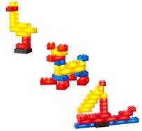 משחק בסיסי 30 קוביות מוארות LIGHT STAX, תואם גודל קוביות LEGO - משלוח חינם!