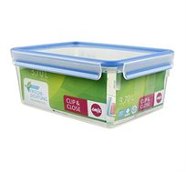 קופסת פלסטיק מלבנית אטומה 3.7 ליטר