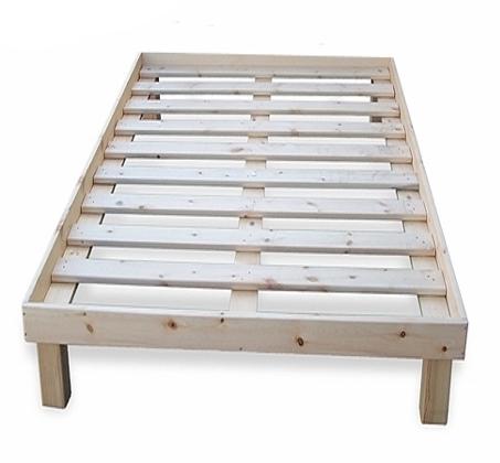 מיטה איכותית וחזקה מעץ מלא