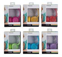 אוזניות קשת גדולות וצבעוניות