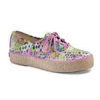 Keds - נעלי סניקרס טריפל בדוגמת פרחים בצבע ורודירוק