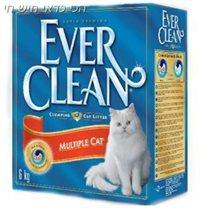 4+1 סופרחול לחתול מתגבש אברקלין אדום 10 ליטר Ever Clean