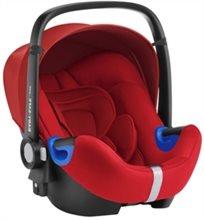 סלקל Baby Safe I-Size עם בסיס איזופיקס מתכוונן - אדום