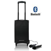 רמקול מוגבר נייד משולב Bluetooth ומערכת קריוקי מחודש מבית PURE ACOUSTICS