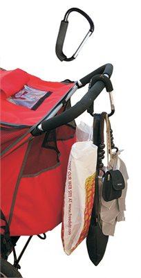לסחוב שקיות ללא מאמץ! וו איכותי לעגלה Mummy Clip המקורי - משלוח חינם!