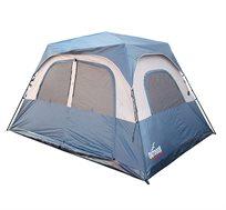 אוהל ל-8 אנשים עם מנגנון פתיחה מהירה ללא צורך בהשחלת המוטות ובבנייתם OUTDOOR REVOLUTION
