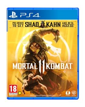 Mortal Kombat 11 Ps4 מורטל קומבט 11 אירופאי! הזמנה מוקדמת!