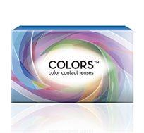 זוג עדשות מגע צבעוניות  - Colors