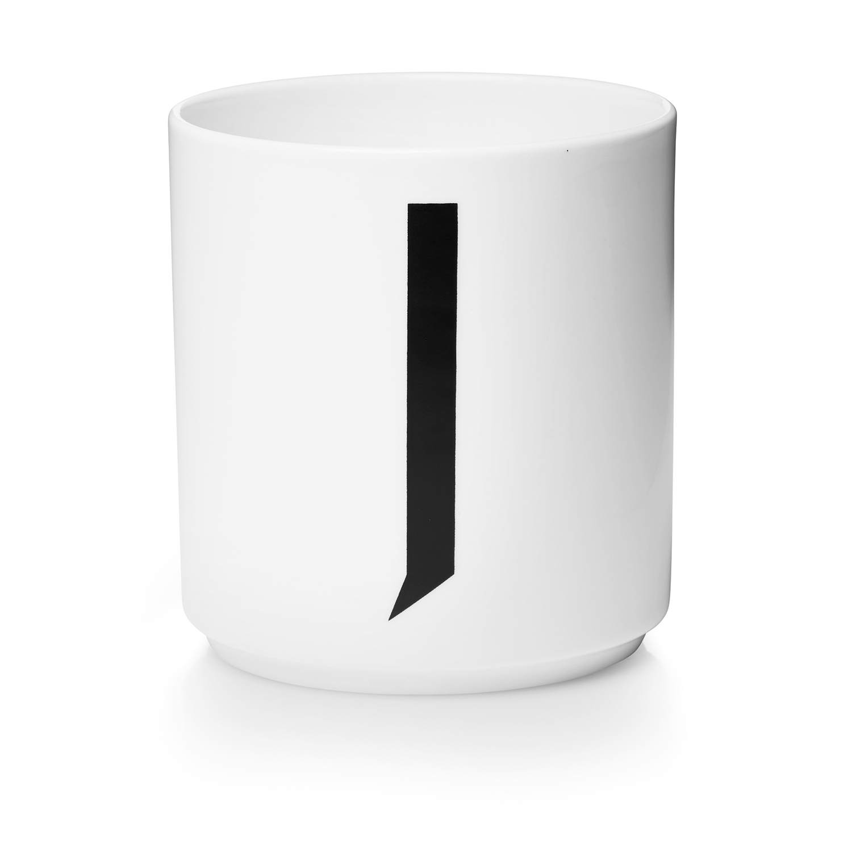 Design Letters// Porcelain Cup Aj J