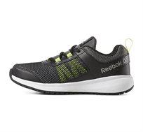 נעלי אימון Reebok לנוער דגם Road Supreme בצבע אפור/ירוק