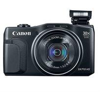 מצלמת סופר זום Canon PowerShot SX710 ברזולוציית 20.3MP, זום משופר 30X, וידיאו FULL HD ועוד