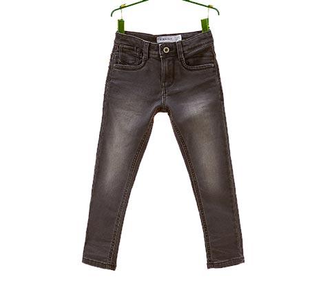 מכנסי ג'ינס OVS משופשפים לילדים - שחור