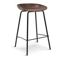כסא בר מעוצב בסגנון מודרני עם גובה מושב לבחירה