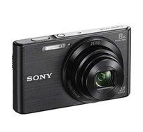 """מצלמת SONY סטילס דיגיטלית קומפקטית מסך LCD בגודל """"2.7 זום אופטי X8 זום דיגיטלי X32 דגם DSC-W830B"""
