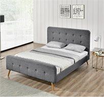 """מיטה בגודל 120X190 ס""""מ עם בסיס עץ מלא בעיצוב צעיר דגם ענת HOME DECOR"""