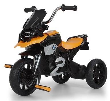 תלת אופן BMW R1200 GS עם גלגלי EVA ופדלים - כתום - משלוח חינם - תמונה 2