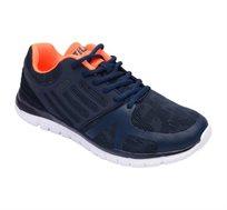 נעלי ספורט לגברים FILA דגם Ashtin בצבעי כחול נייבי וכתום