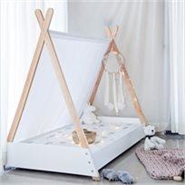 מיטת מעבר בעיצוב אוהל טיפי