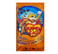 מזון יבש Super Cat סופר קט לחתולים בוגרים