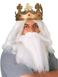 זקן לבן למלך