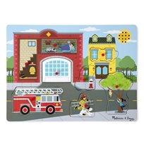פאזל צלילים- מכבי אש- Melissa & Doug