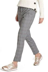 מכנסי בד PROMOD לנשים - צבע והדפס לבחירה