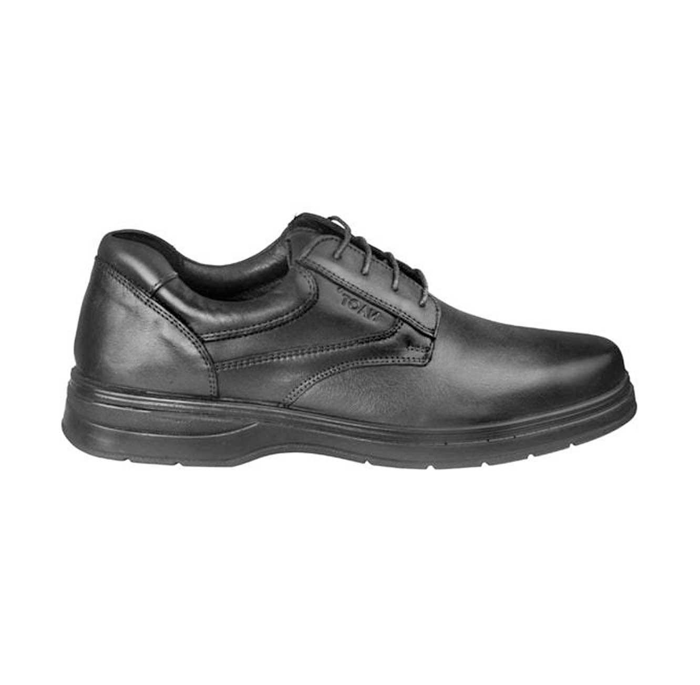 נעליים קלאסיות טבע נאות לגבר דגם תומס - שחור