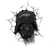 מנורת לד מלחמת הכוכבים בצורת דארט ווידר תלת מימדית