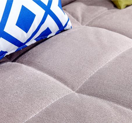 מערכת ישיבה נפתחת למיטה מרופדת בבד איכותי הניתן להסרה וניקוי BRADEX - תמונה 7