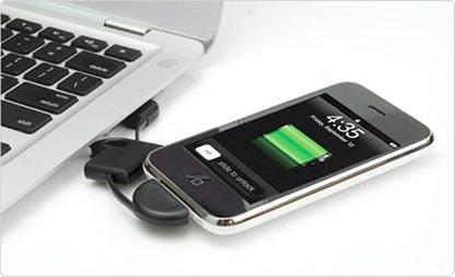 המטען שהולך איתך לכל מקום! מטען USB ל-IPHONE המתחבר למחזיק המפתחות, מתאים ל- 3/4/4S, ב-₪20 בלבד! - תמונה 3