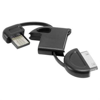 המטען שהולך איתך לכל מקום! מטען USB ל-IPHONE המתחבר למחזיק המפתחות, מתאים ל- 3/4/4S, ב-₪20 בלבד! - תמונה 5