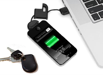 מטען USB קומפקטי ונוח לאייפון