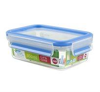 קופסת פלסטיק אטומה 0.55 ליטר
