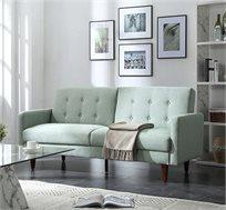 ספת אירוח מעוצבת תלת מושבית הנפתחת למיטה בצורה קלה ונוחה  - משלוח חינם
