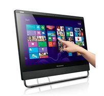 """משחב AIO LENOVO עם מסך """"23 מגע זיכרון 8GB אחסון 128SSD +מקלדת ועכבר מתנה"""