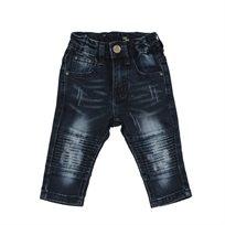 ORO ג'ינס(12 חודשים -16 שנים) - כחול פאטצ' בברכיים