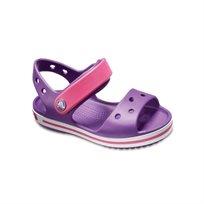 Crocs Crocband Sandal Kids - סנדל קרוקס קרוקבנד לילדים בצבע סגולורוד