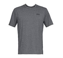 טישרט קצרה UNDER ARMOUR FW18 UA Threadborne SS מנדף זיעה לגברים - אפור