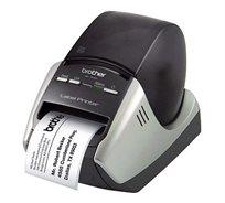 מדפסת מקצועית להדפסת מדבקות רחבות עם חיתוך אוטומטי Brother QL-570